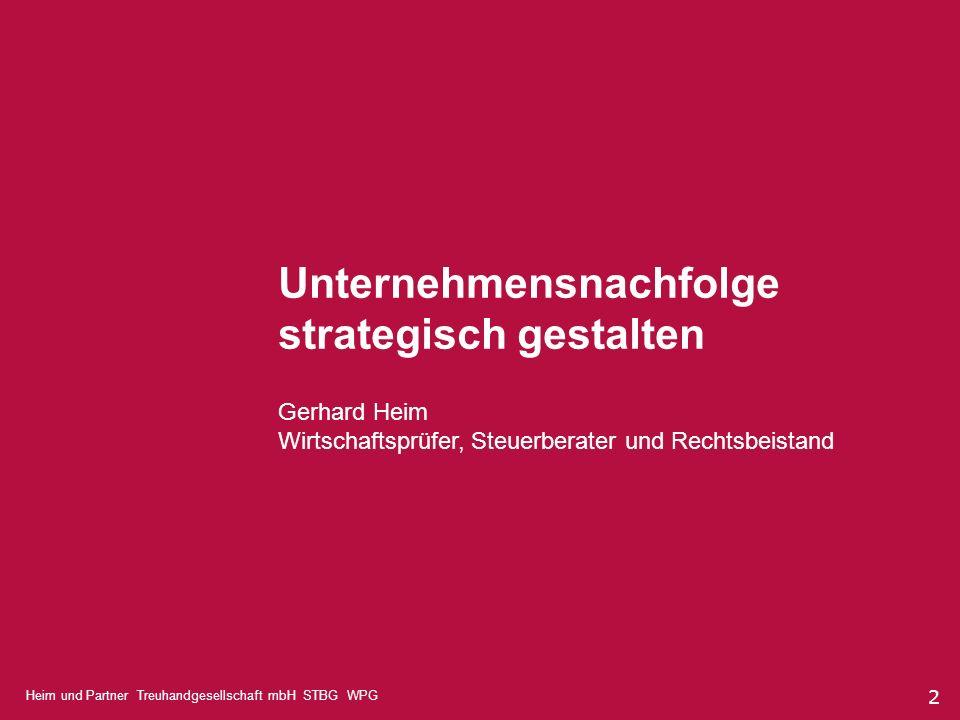 Unternehmensnachfolge strategisch gestalten