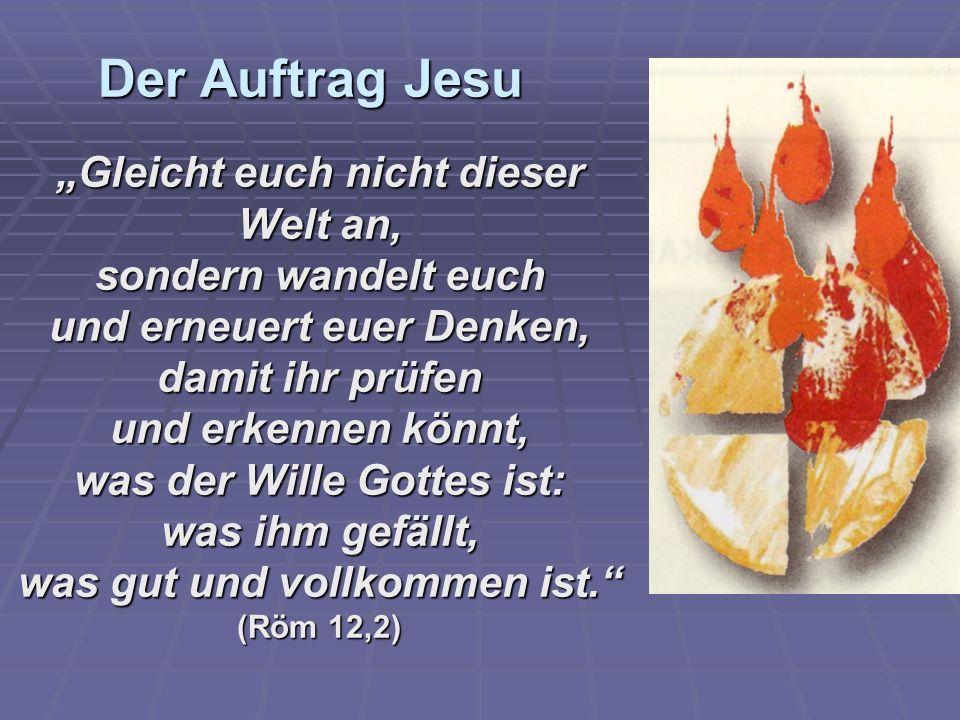 Der Auftrag Jesu