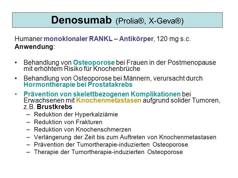 Denosumab (Prolia®, X-Geva®)