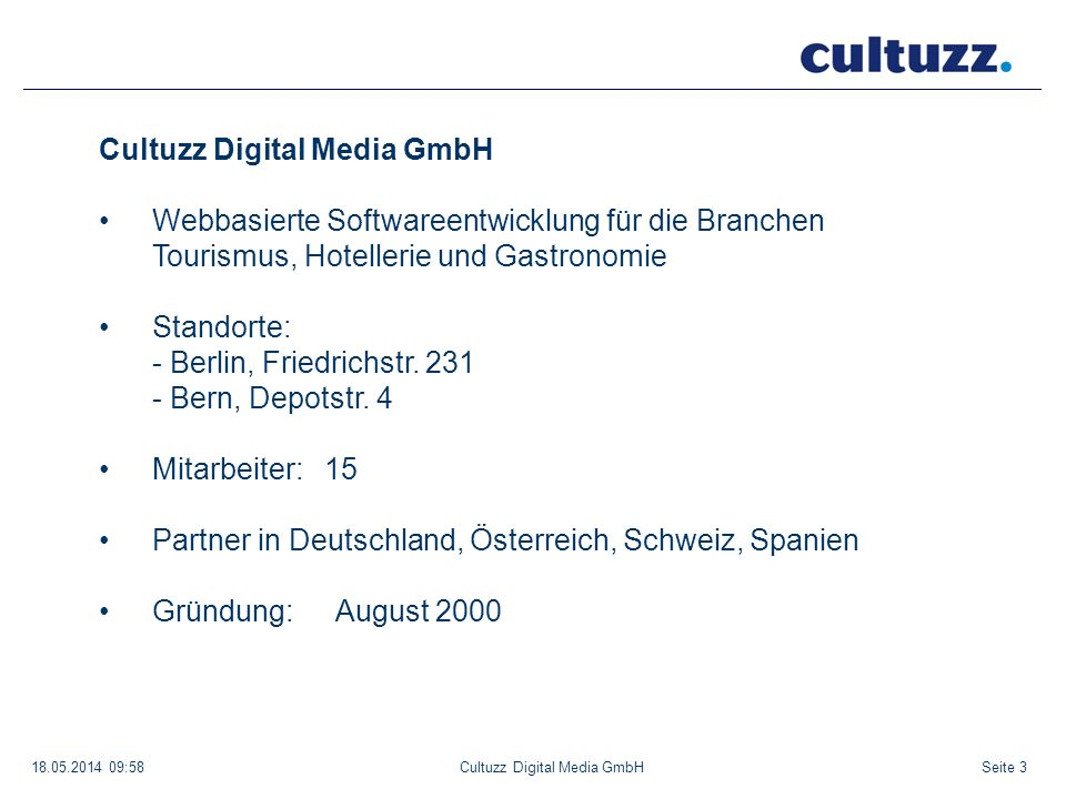 Cultuzz Digital Media GmbH