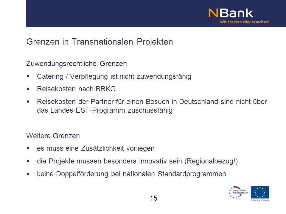 Grenzen in Transnationalen Projekten