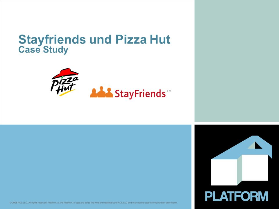 Stayfriends und Pizza Hut Case Study