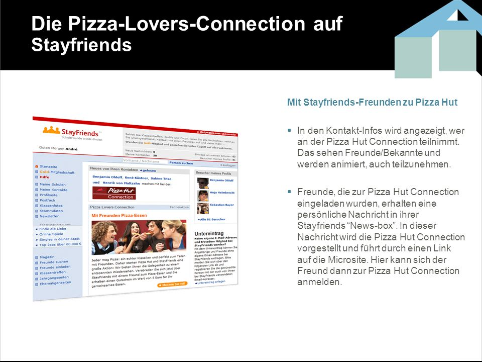 Die Pizza-Lovers-Connection auf Stayfriends