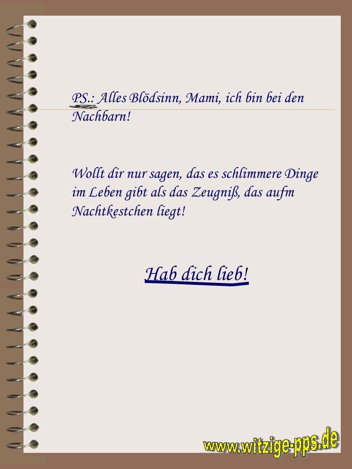 www.witzige-pps.de Hab dich lieb!