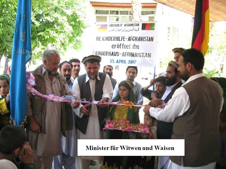 Minister für Witwen und Waisen