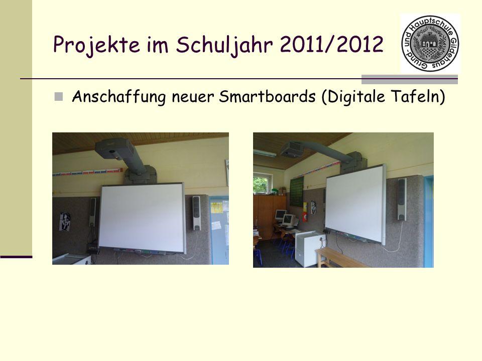 Projekte im Schuljahr 2011/2012