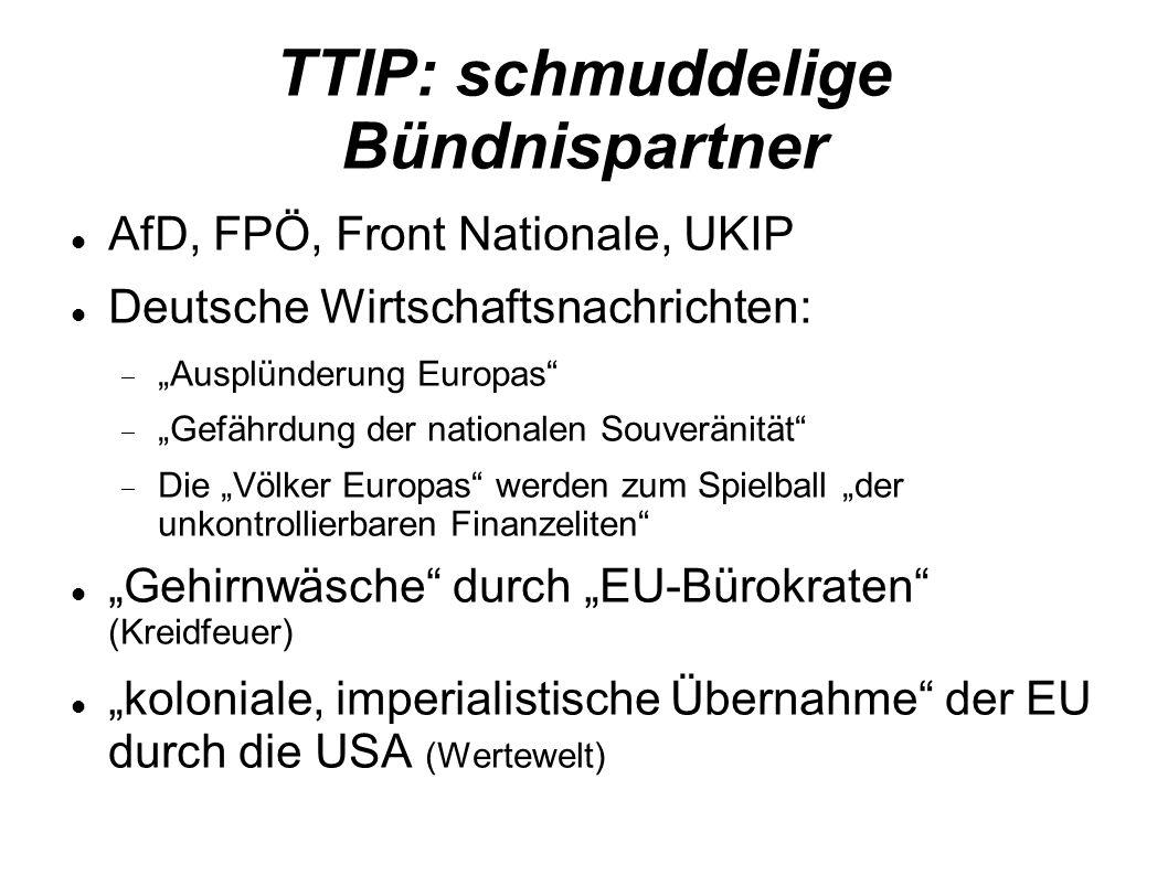 TTIP: schmuddelige Bündnispartner