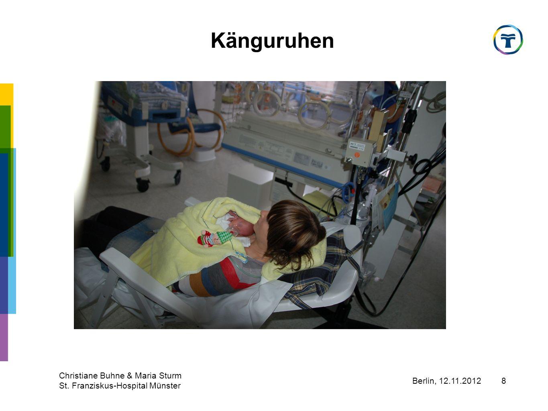 Känguruhen Christiane Buhne & Maria Sturm