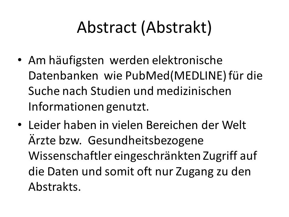 Abstract (Abstrakt)