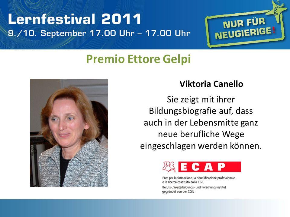 Premio Ettore Gelpi Viktoria Canello