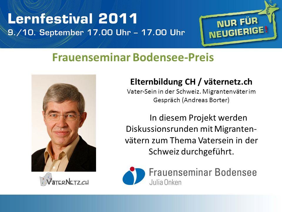 Frauenseminar Bodensee-Preis