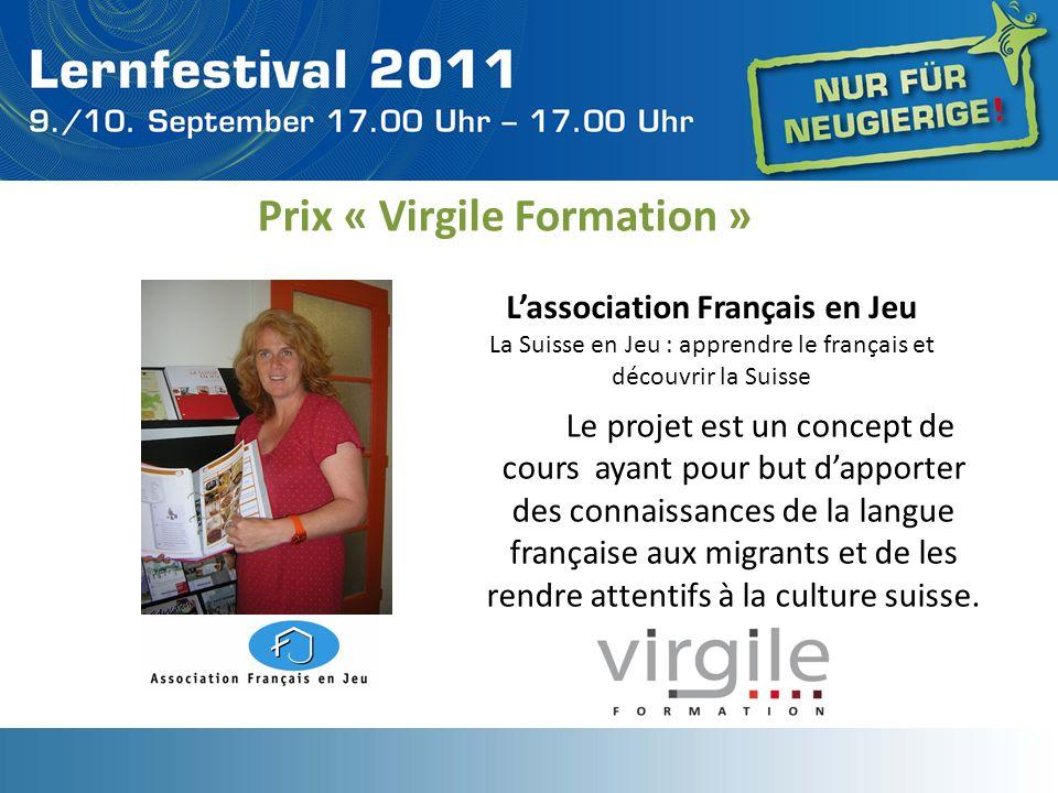 Prix « Virgile Formation »