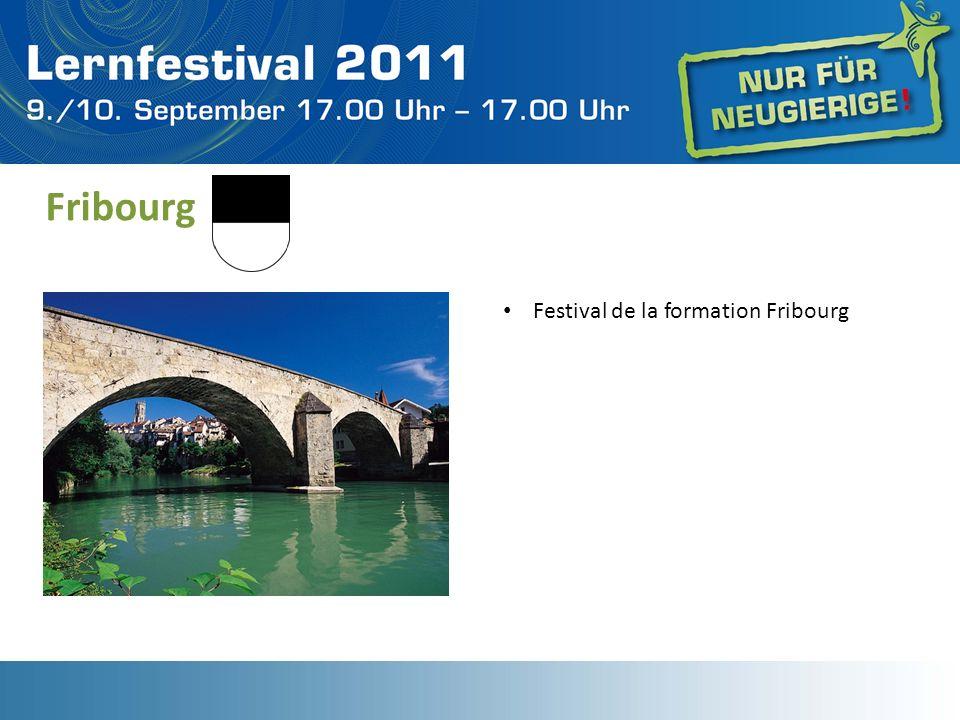 Fribourg Festival de la formation Fribourg