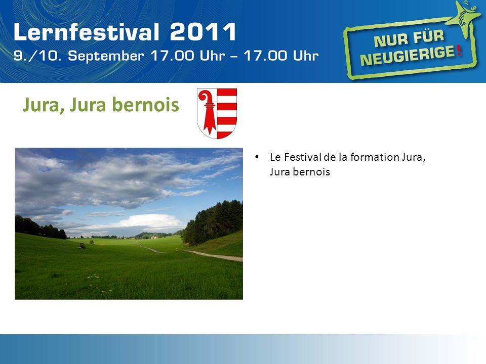 Jura, Jura bernois Le Festival de la formation Jura, Jura bernois