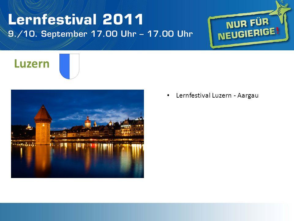 Luzern Lernfestival Luzern - Aargau