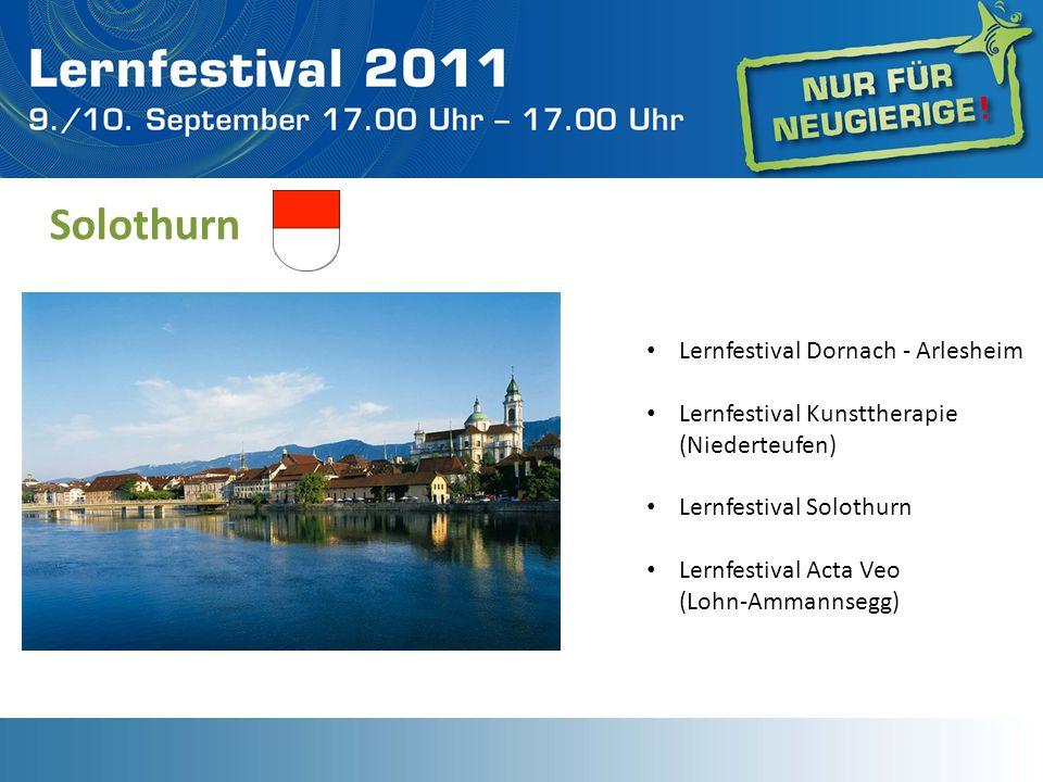 Solothurn Lernfestival Dornach - Arlesheim