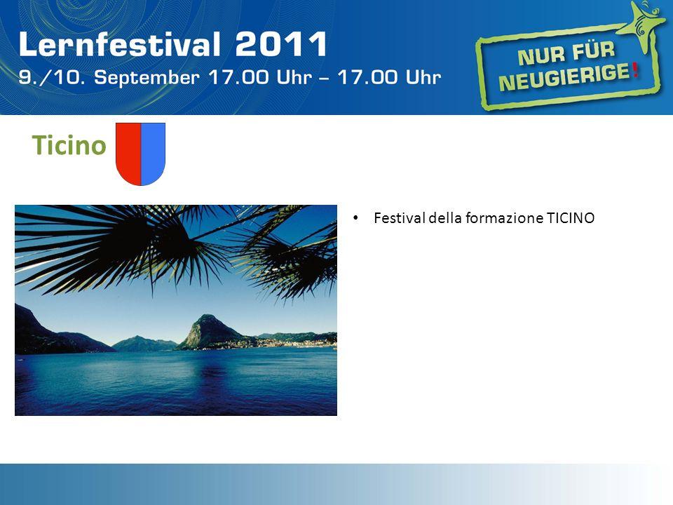Ticino Festival della formazione TICINO