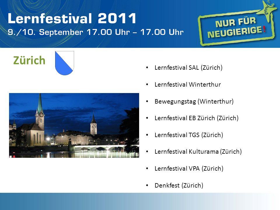 Zürich Lernfestival SAL (Zürich) Lernfestival Winterthur