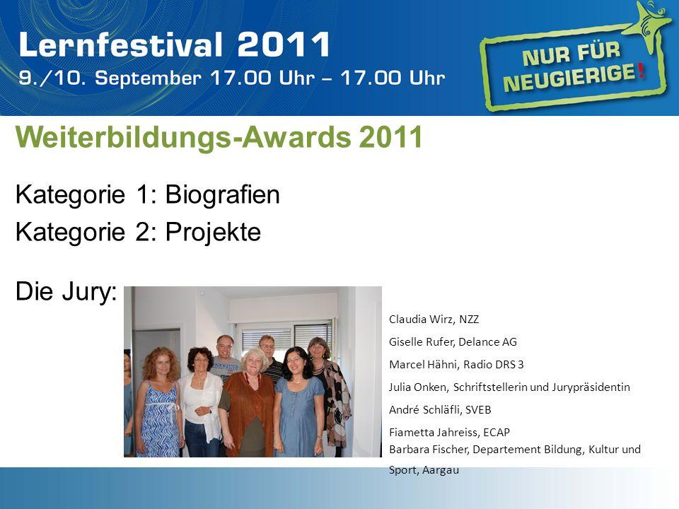 Weiterbildungs-Awards 2011