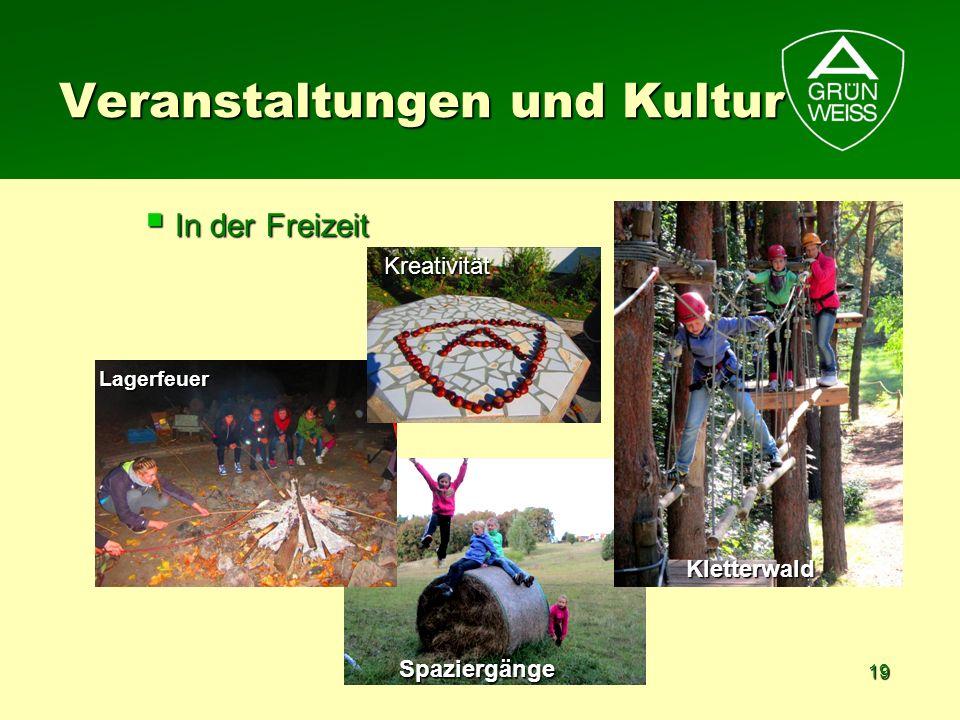 Veranstaltungen und Kultur