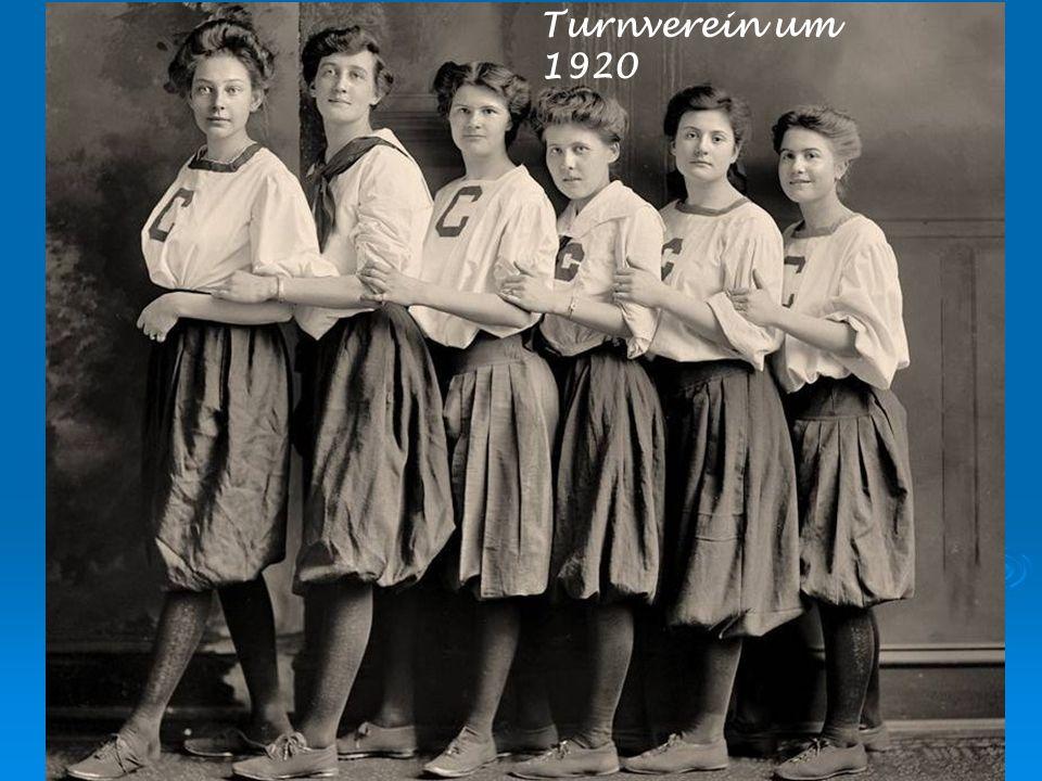 Turnverein um 1920