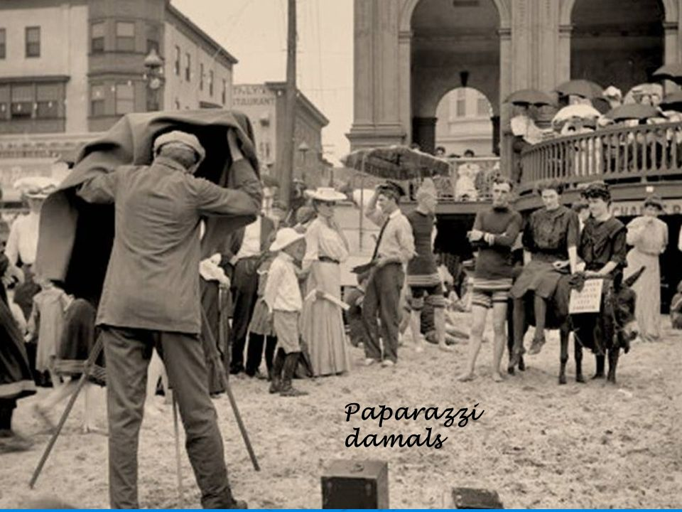 Paparazzi damals