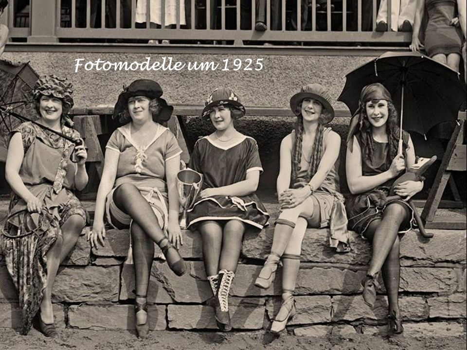 Fotomodelle um 1925