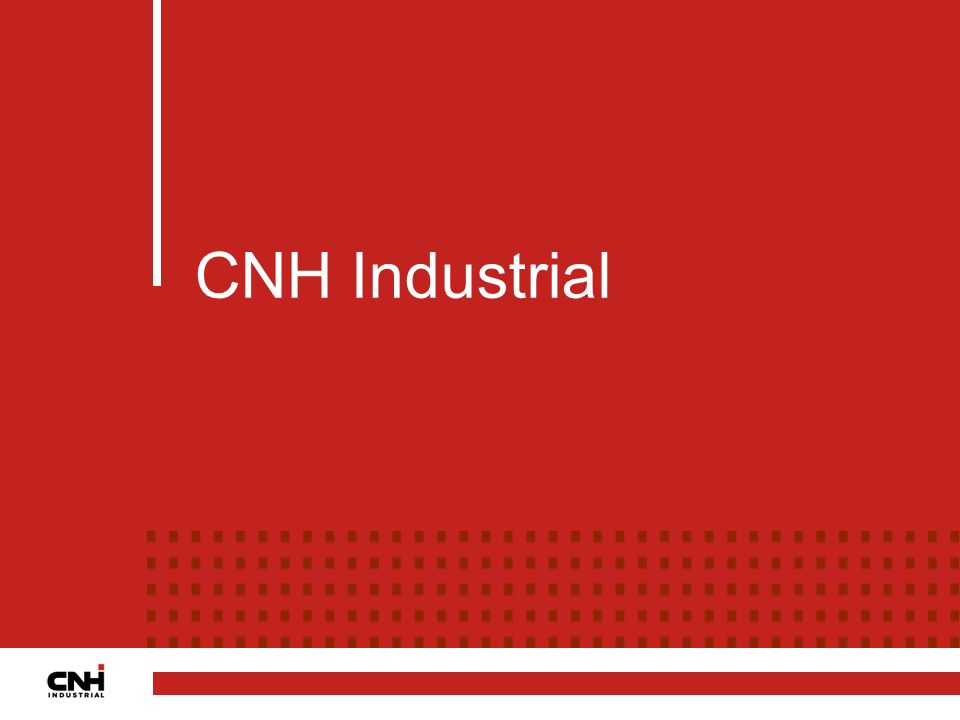 CNH Industrial CNH Industrial