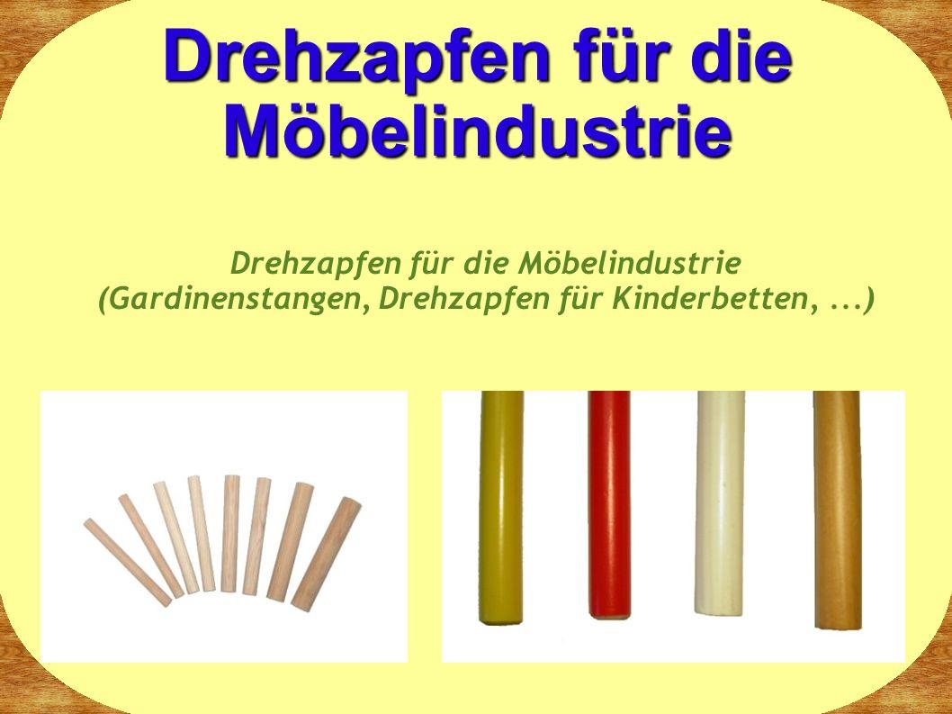 Drehzapfen für die Möbelindustrie