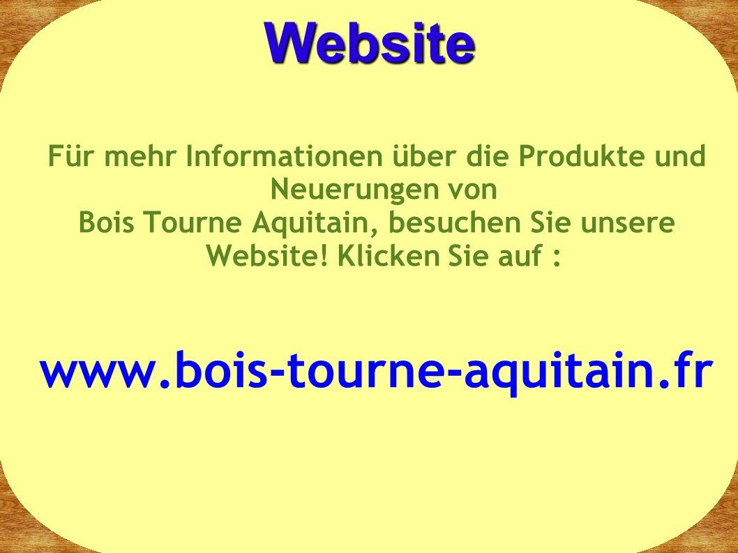 Website www.bois-tourne-aquitain.fr