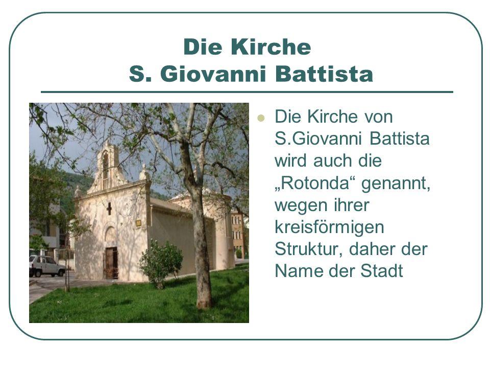 Die Kirche S. Giovanni Battista