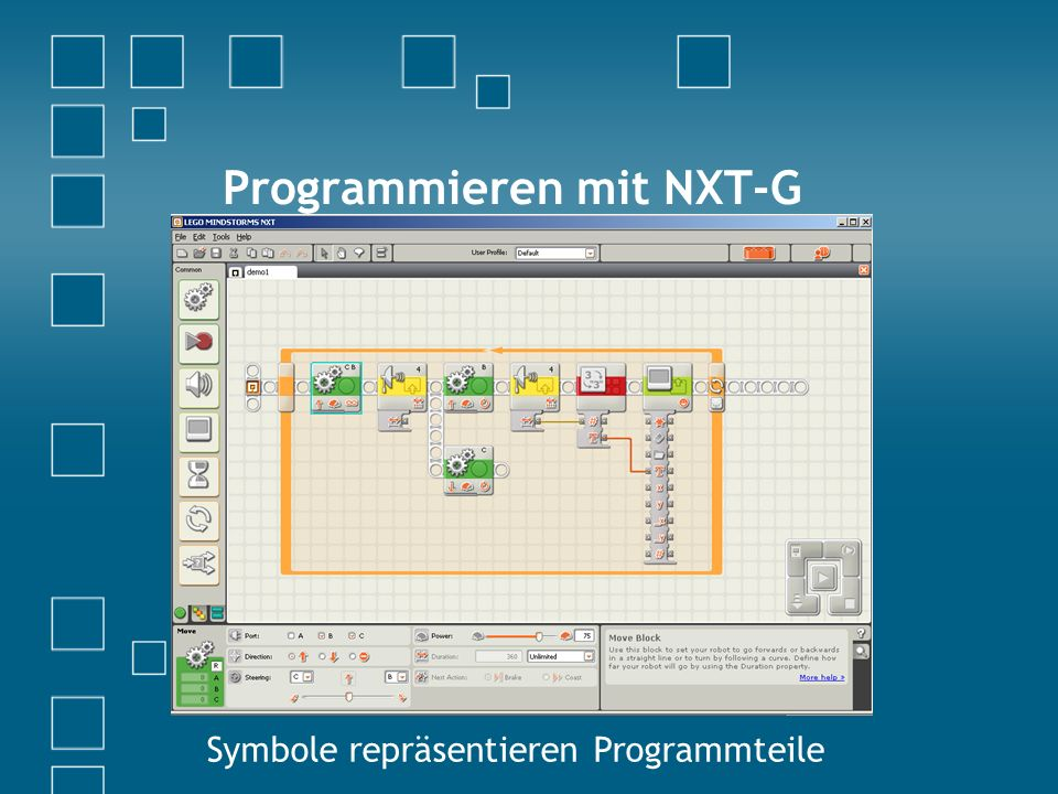 Programmieren mit NXT-G