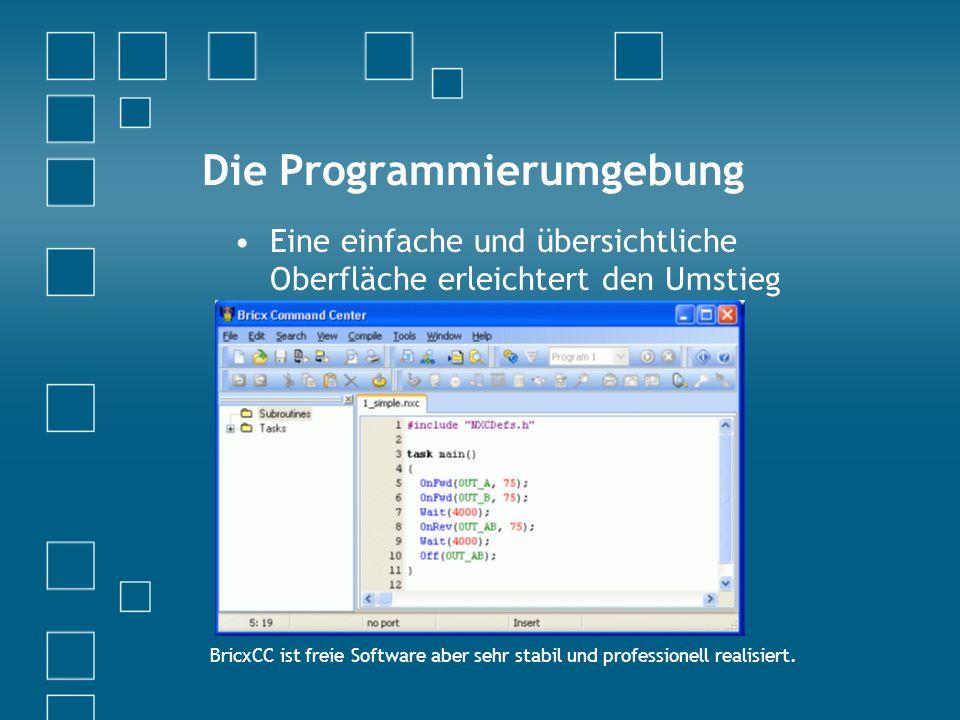Die Programmierumgebung