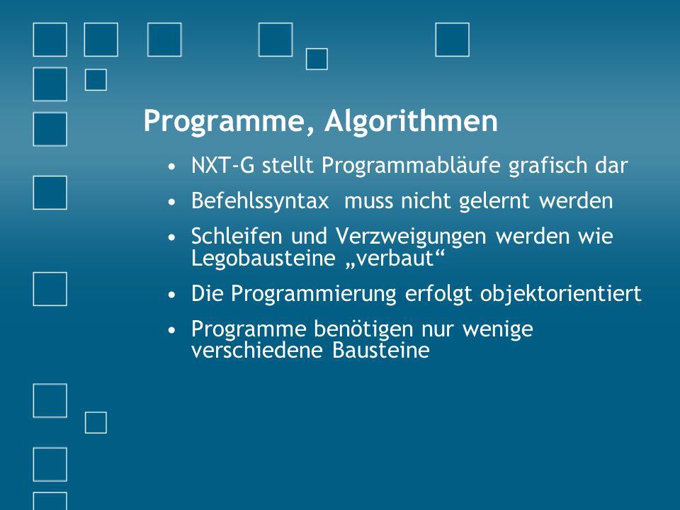 Programme, Algorithmen