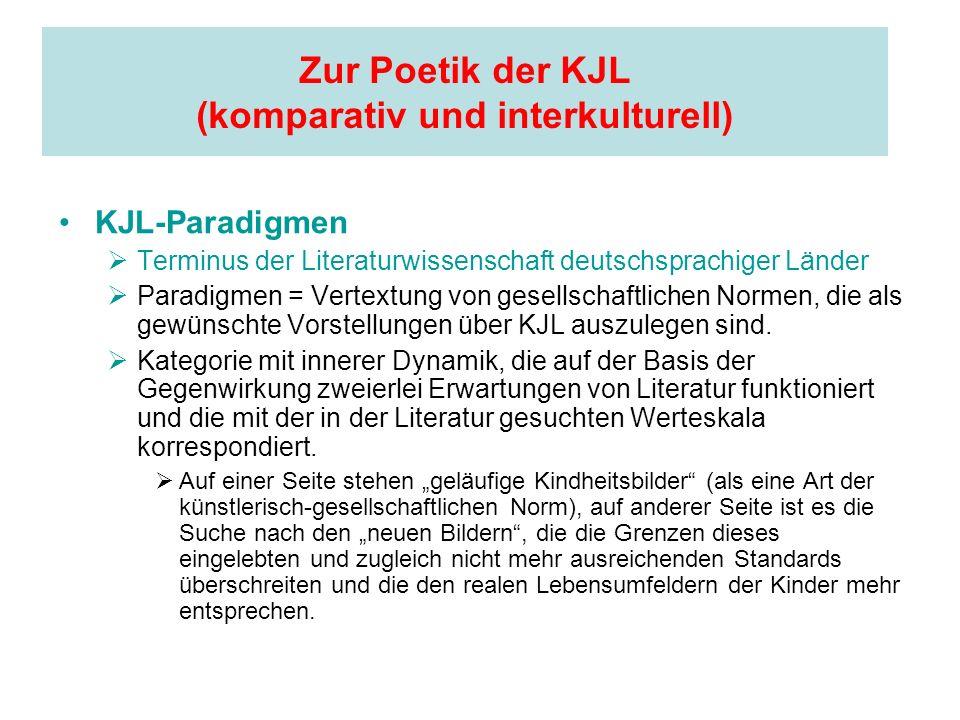 Zur Poetik der KJL (komparativ und interkulturell)