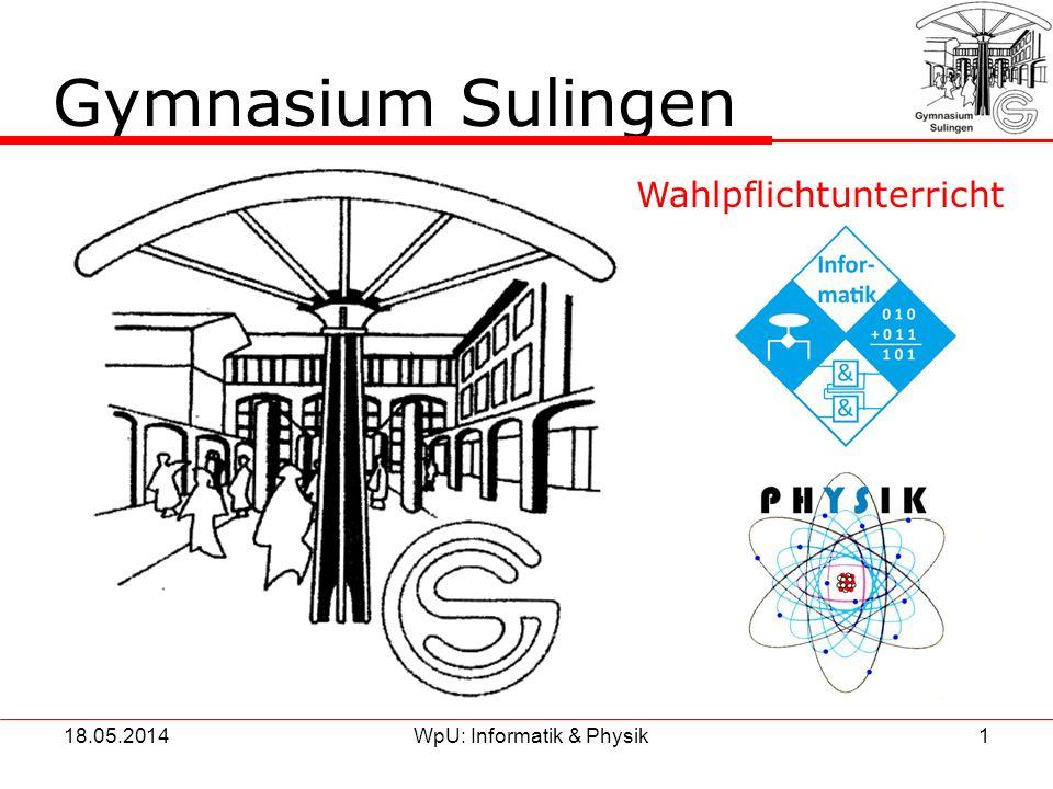 Gymnasium Sulingen Wahlpflichtunterricht & 31.03.2017