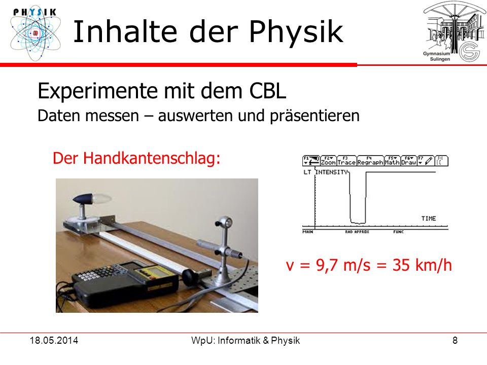 WpU: Informatik & Physik