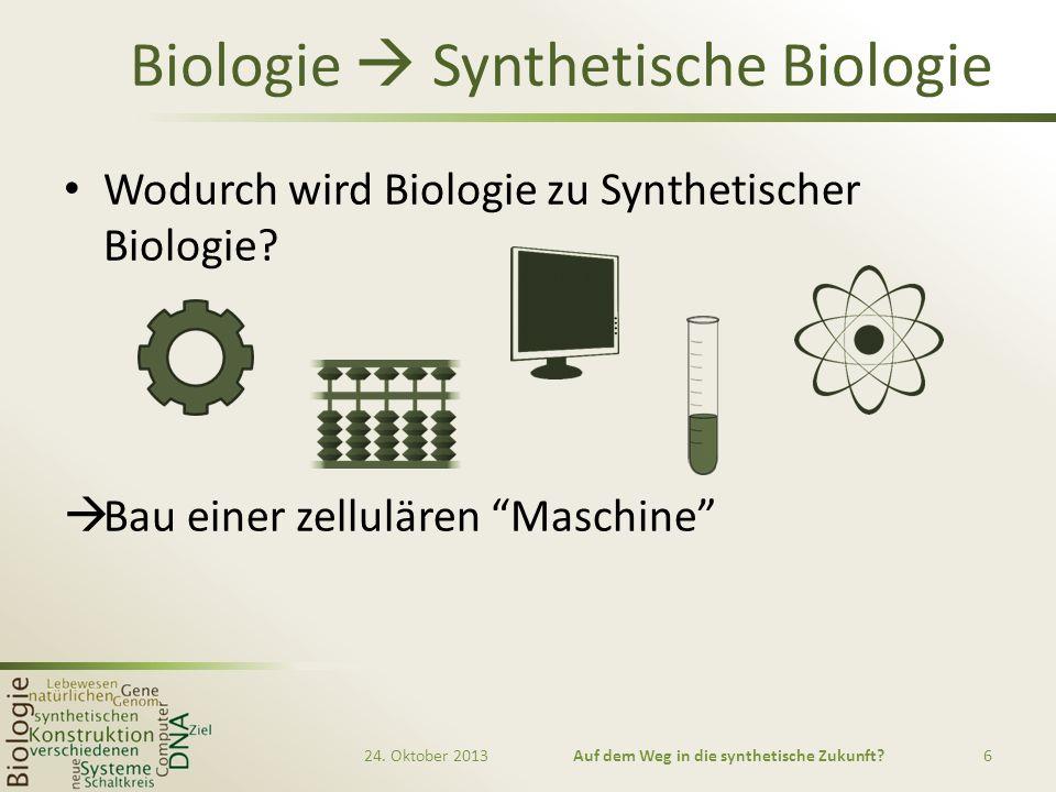 Biologie  Synthetische Biologie