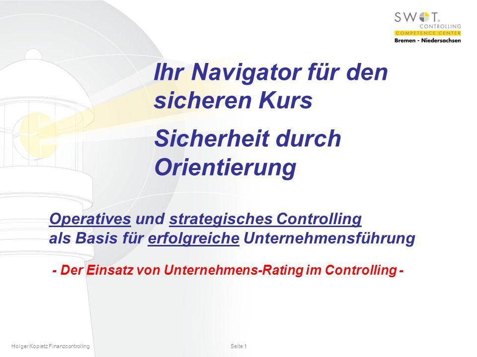 Ihr Navigator für den sicheren Kurs Sicherheit durch Orientierung