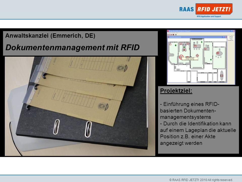 Dokumentenmanagement mit RFID