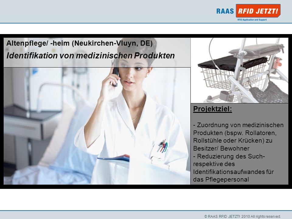 Identifikation von medizinischen Produkten