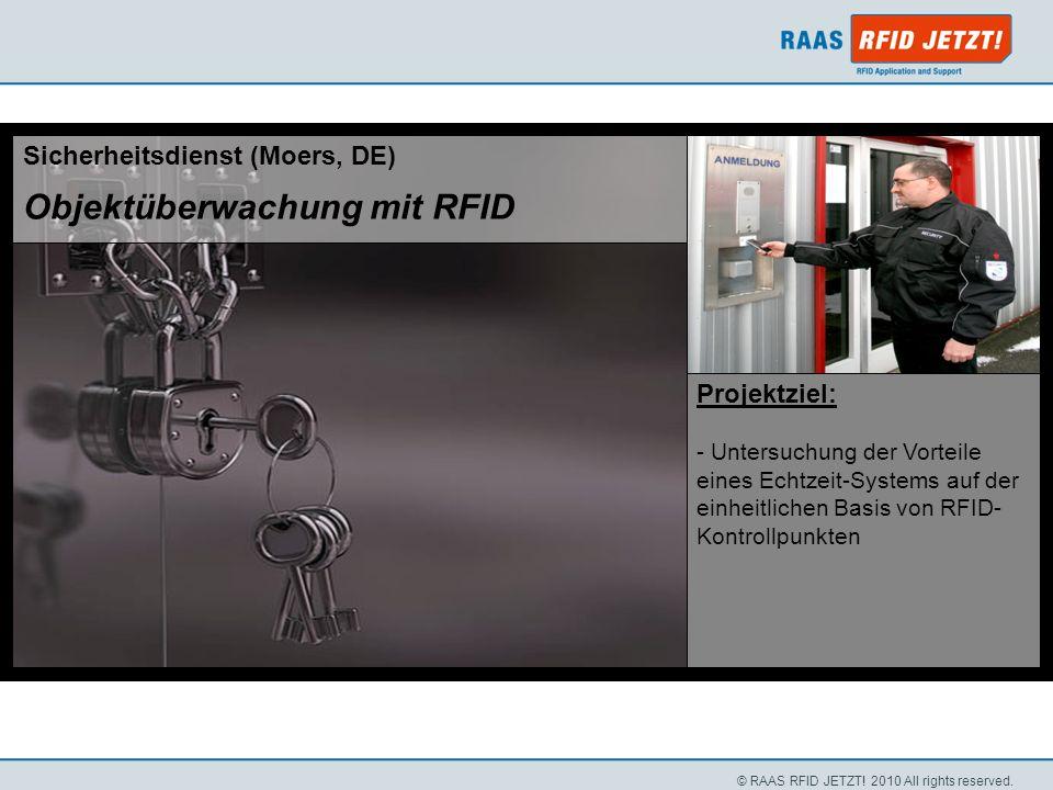 Objektüberwachung mit RFID