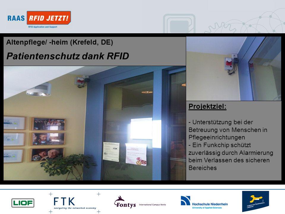 Patientenschutz dank RFID
