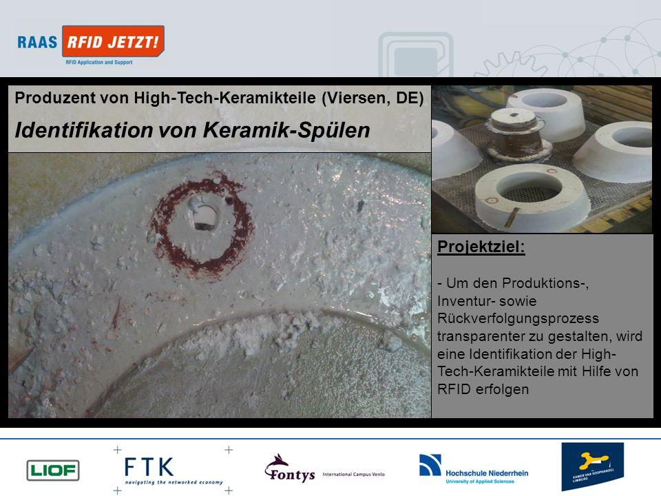 Identifikation von Keramik-Spülen