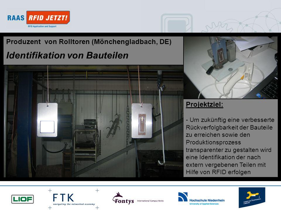 Identifikation von Bauteilen