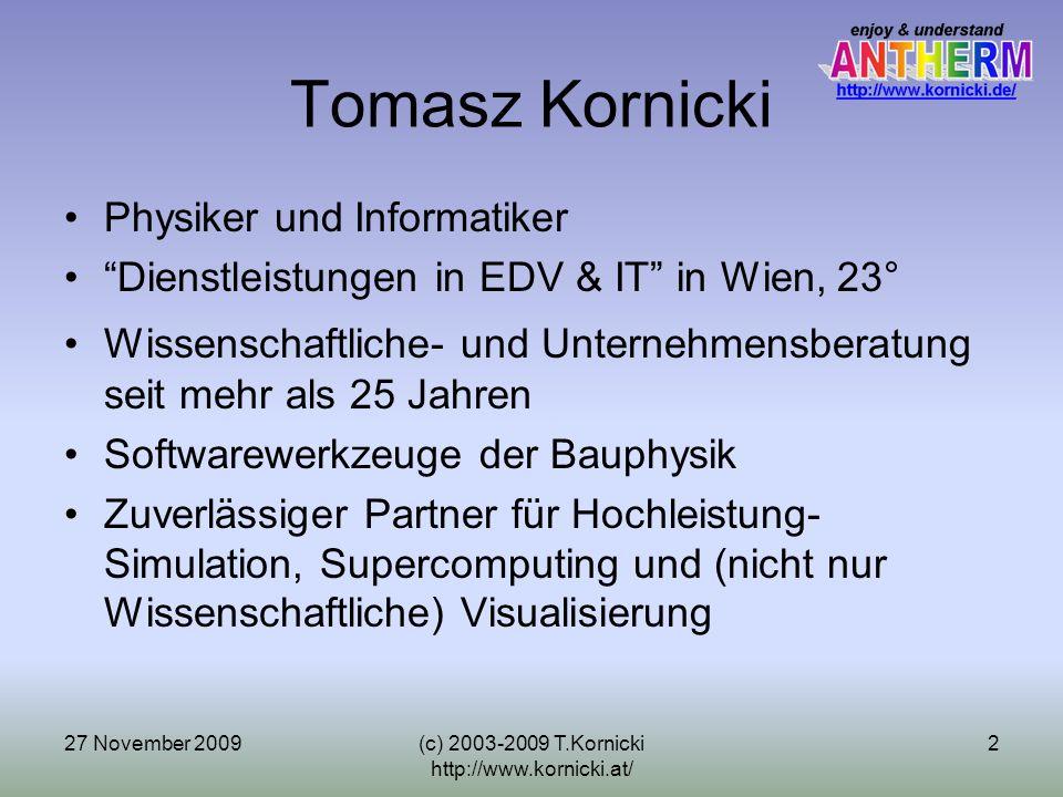 (c) 2003-2009 T.Kornicki http://www.kornicki.at/