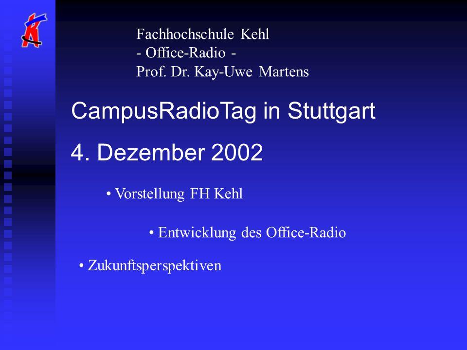CampusRadioTag in Stuttgart 4. Dezember 2002