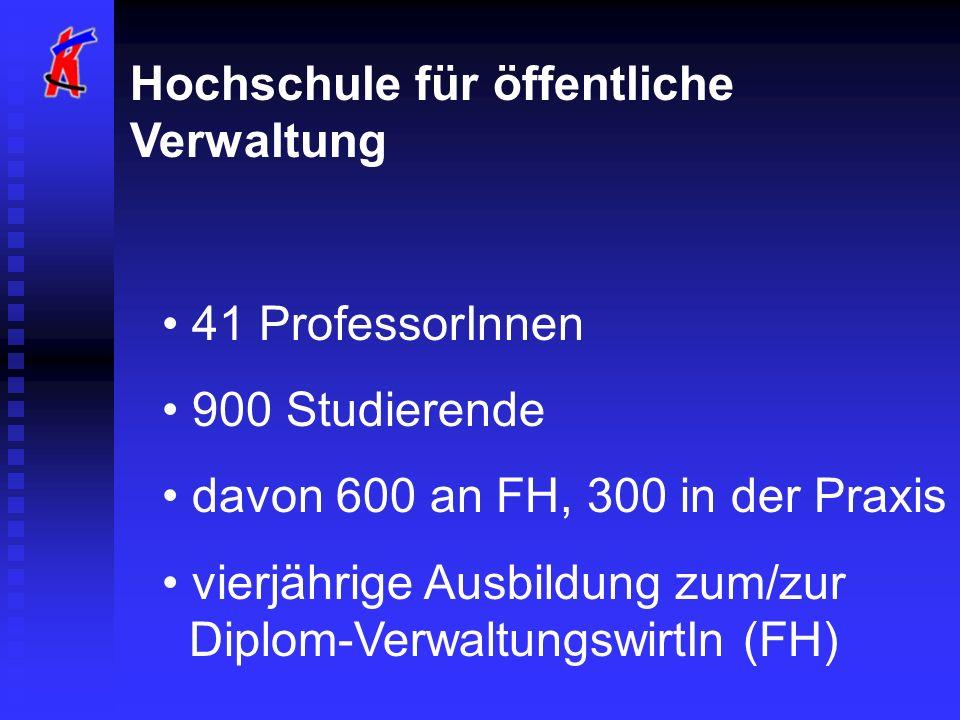 Hochschule für öffentliche Verwaltung
