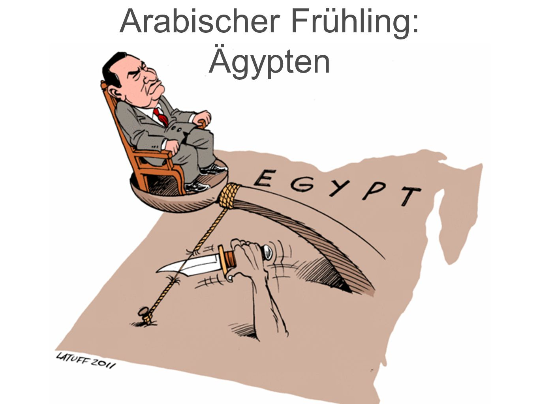 Arabischer Frühling: Ägypten