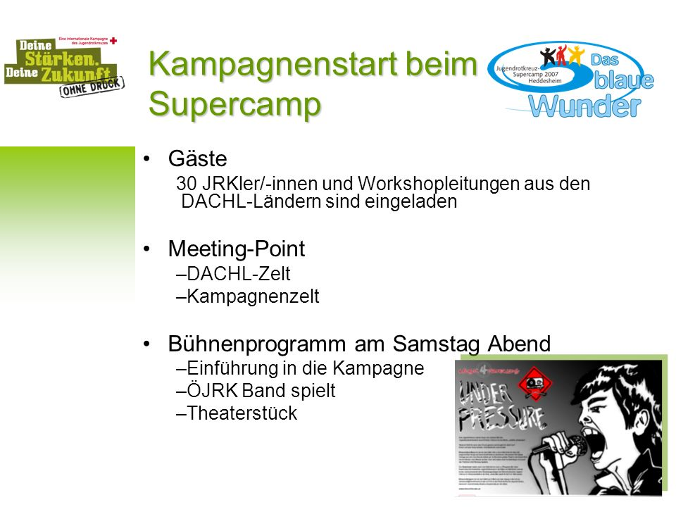 Kampagnenstart beim Supercamp